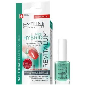 Eveline Nail Therapy Professional Сыворотка регенерирующая для применения во время и после гибридного и гелевого маникюра, 12 мл 4