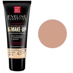 Eveline Тональный крем 3 в 1 Art Professional makeup SPF 10 тон бежевый, 30 мл 9