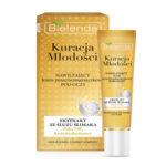 Bielenda Youth Therapy Крем для кожи вокруг глаз с муцином улитки, гиалуроновой кислотой против морщин увлажняющий, 15 мл 1