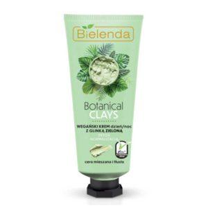 Bielenda Botanical Clays Веганский крем день/ночь нормализующий с зелёной глиной и чистым соком алоэ вера, для комбинированной и жирной кожи, 50 мл 32