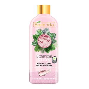 Bielenda Botanical Clays Веганская мицеллярная вода с розовой глиной и экстрактом ягод асаи, 500 мл 2