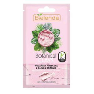 Bielenda Botanical Clays Веганская маска с розовой глиной и экстрактом ягод асаи, для сухой, обезвоженной и чувствительной кожи, 8 г 25