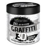 Bielenda Graffiti 3D Гель для волос Extra Strong с гиалуроновой кислотой и протеинами шёлка, 250 г 2