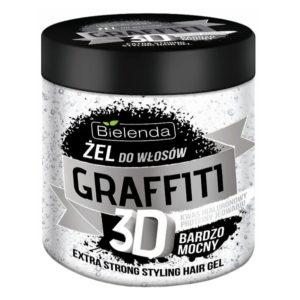 Bielenda Graffiti 3D Гель для волос Extra Strong с гиалуроновой кислотой и протеинами шёлка, 250 г 12