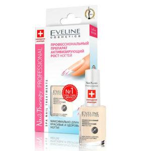 Eveline Профессиональный препарат активизирующий рост ногтей, 12 мл 1