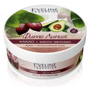 """Eveline Крем """"интенсивный уход"""" какао + авокадо, 210 мл 7"""
