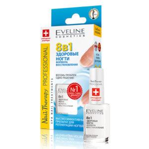 Eveline Препарат для регенерации ногтей 8 в 1, 12 мл 2