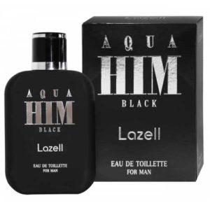 Lazell Туалетная вода для мужчин Aqua Him Black,100 мл 97