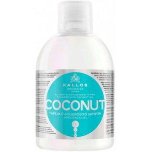 Kallos Cosmetics Coconut Шампунь укрепляющий волосы с кокосовым маслом, 1000 мл 21