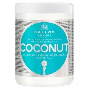 Kallos Cosmetics Coconut Маска для укрепления волос с натуральным кокосовым маслом, 1000 мл 61