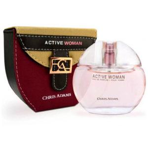 Chris Adams Парфюмированная вода для женщин Active Woman, 15 мл 2