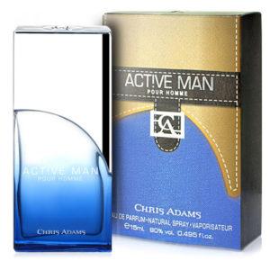 Chris Adams Парфюмированная вода для мужчин Active Man, 15 мл 8