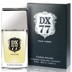 Chris Adams Парфюмированная вода для мужчин Dx 77, 15 мл 9
