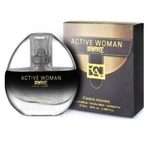 Chris Adams Парфюмированная вода для женщин Active Woman Noire, 15 мл 4