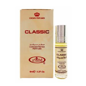 Crown Perfumes Духи масляные для женщин Classic Классик цитрусовый, пряный, древесный, 6 мл 1