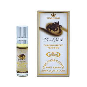 Crown Perfumes Духи масляные для женщин Choco Musk Шоколадный мускус гурманский, сладкий, 6 мл 8