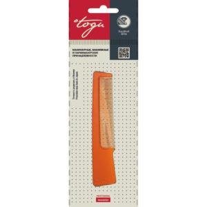 Togu Гребень компактный с ручкой (коричневый пластик), 135 мм 13