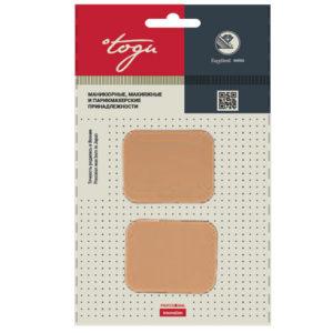 Togu Набор спонжей прямоугольных для макияжа №2908, 2 шт 3
