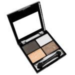 Rimalan Бархатные тени для век 4-х цветные Quartet Velvet Eye Shadow, EV3004, набор 02 2