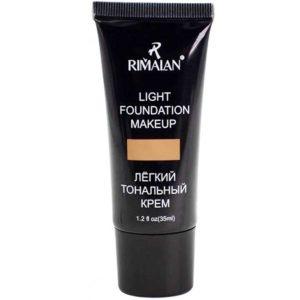 Rimalan Лёгкий тональный крем Light Foundation Makeup, F15, тон 03 песочный, 35 мл 4