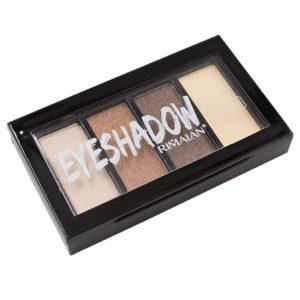 Rimalan Палетка теней для век универсальная 4-х цветная Box Tetrad Eye Shadow, E4004, набор 03 8