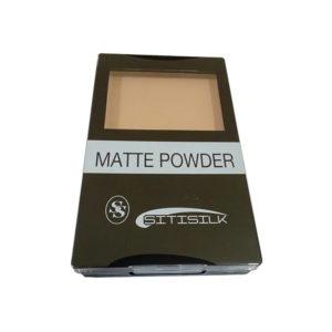 Sitisilk Пудра компактная (спонж+зеркало) Matte Powder, SS-1801, тон 04 бежевый 11