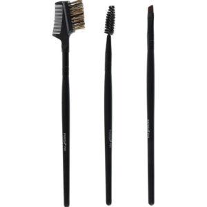 Parisa Набор из 3-х кистей: для бровей, для ресниц и бровей, для разделения 6