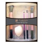 Parisa Набор Кистей для макияжа P-104 (кисть для румян, бровей, теней и растушевки + спонж) 2