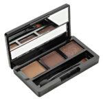 Rimalan Палетка теней для бровей + мерцающие тени для век Shimmer Eyeshadow & Eyebrow Palette, 3054, набор 03 2