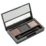 Rimalan Палетка теней для бровей + мерцающие тени для век Shimmer Eyeshadow & Eyebrow Palette, 3054, набор 04 1