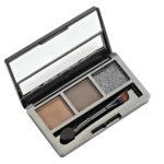Rimalan Палетка теней для бровей + мерцающие тени для век Shimmer Eyeshadow & Eyebrow Palette, 3054, набор 02 2