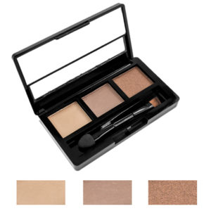 Rimalan Палетка теней для бровей + мерцающие тени для век Shimmer Eyeshadow & Eyebrow Palette, 3054, набор 01 1