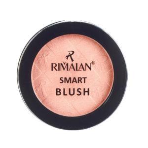 Rimalan Румяна компактные 1-цветные Smart Blush BL001, тон 02 перламутр розовый, 9 г 3