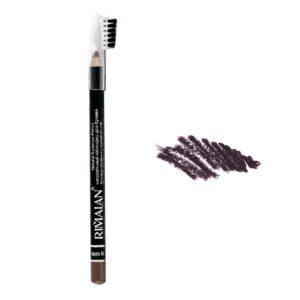 Rimalan Карандаш для бровей натуральный Eyebrow Pencil, PS 201, тон 02 коричневый 8