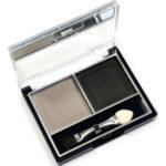 Mildlook Тени для век 2 цвета Eyeshadow, ES 0 5022, тон 04 матовые серый+чёрный, 6 г 1