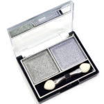 Mildlook Тени для век 2 цвета Eyeshadow, ES 0 5022, тон 11 серебро+французский серый, 6 г 2