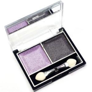 Mildlook Тени для век 2 цвета Eyeshadow, ES 0 5022, тон 18 фиолетовый+сиреневый, 6 г 11