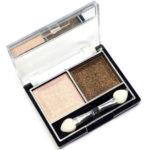 Mildlook Тени для век 2 цвета Eyeshadow, ES 0 5022, тон 37 розово-телесный + горький шоколад, 6 г 1