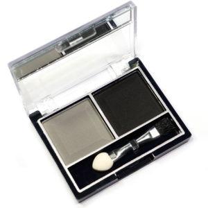 Mildlook Тени для век 2 цвета Eyeshadow, ES 0 5022, тон 40 серый + чёрный, 6 г 8