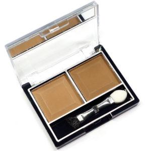 Mildlook Тени для век 2 цвета Eyeshadow, ES 0 5022, тон 42 песочный+кирпичный, 6 г 8