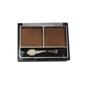 Mildlook Тени для век 2 цвета Eyeshadow, ES 0 5022, тон 43 шоколадный+тёмно-коричневый, 6 г 7