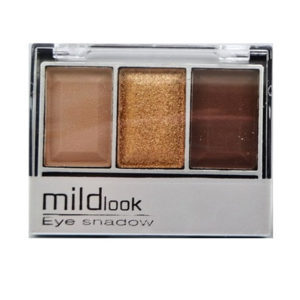 Mildlook Тени для век 3 цвета Eyeshadow, 5033, тон 04, 6 г 2
