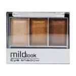 Mildlook Тени для век 3 цвета Eyeshadow, 5033, тон 19, 6 г 2