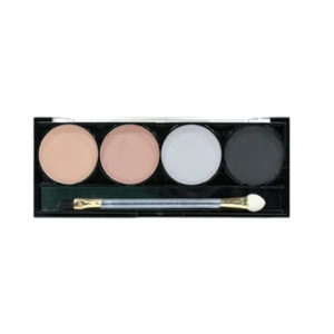 Mildlook Тени для век 4 цвета Eye Shadow Cream, D5004, тон 12, 12 г 30