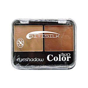 Sitisilk Тени для век 2-х цветные Two Color Eye Shadow, S632, тон 12 МАТ бежевый + светло-коричневый 8