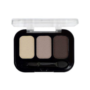 Parisa Тени компактные 3-х цветные Abundance Eyeshadow тон 04, 5.6 г 1