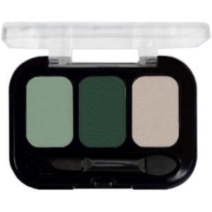 Parisa Тени компактные 3-х цветные Abundance Eyeshadow тон 07, 5.6 г 3