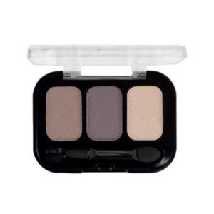 Parisa Тени компактные 3-х цветные Abundance Eyeshadow тон 10, 5.6 г 7