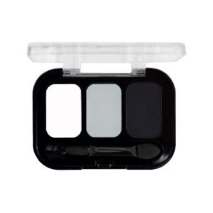 Parisa Тени компактные 3-х цветные Abundance Eyeshadow тон 16, 5.6 г 5