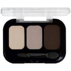 Parisa Тени компактные 3-х цветные Abundance Eyeshadow тон 17, 5.6 г 13